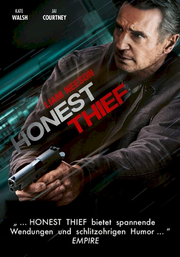 Plakat: Honest Thief