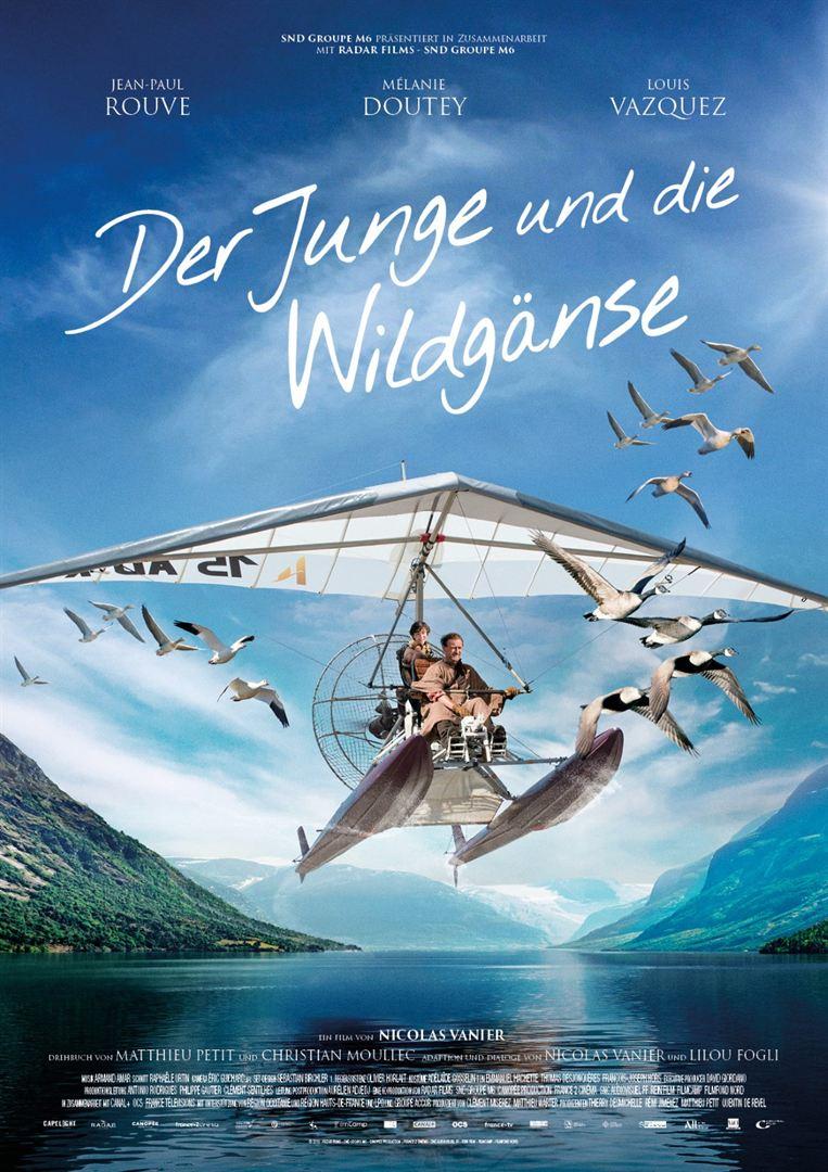 Plakat: Der Junge und die Wildgänse